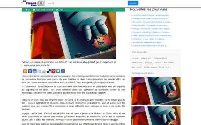 Article dans All French news