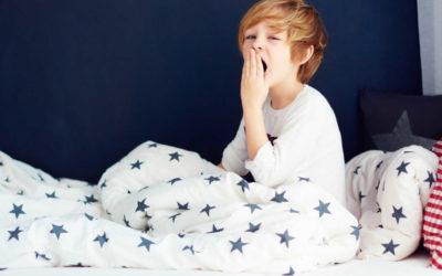 Des enfants en manque de sommeil