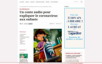 Article dans livreshebdo.fr